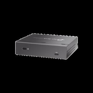 Controlador Omada Cloud para gestionar hasta 100 equipos Omada desde la nube, hotspot, alertas a correo, monitoreo RF, actualizaciones masivas, 2 puertos 10/100 Mbps, 802.3af/at.