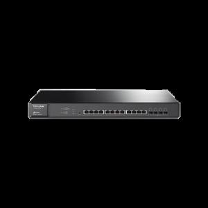 Switch Smart JetStream Gigabit L2, 12 Puertos 10GBase-T y 4 Ranuras SFP+