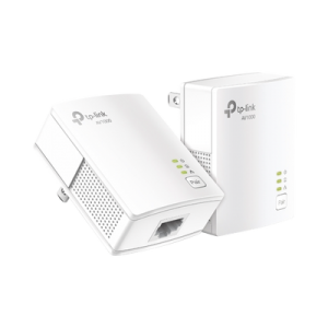 Kit Adaptador Powerline Gigabit Ethernet, tecnologia HomePlug AV2, 1000Mbps, Plug and Play, hasta 300 M dentro de casa, 1 Puerto 10/100/1000 Mbps y tamaño ultra compacto