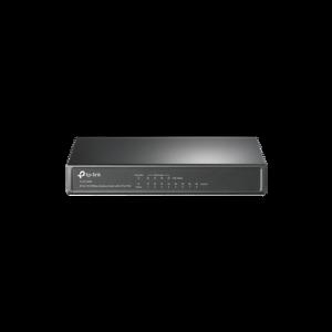 Switch PoE no Administrable de escritorio 8 puertos 10/100 Mbps, 4 puertos PoE, 57 W