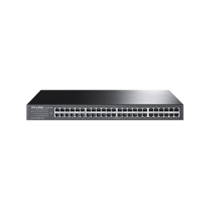 Switch no administrable de 48 puertos 10/100 Mbps para montaje en rack