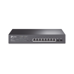 Switch PoE JetStream SDN Administrable 8 puertos 10/100/1000 Mbps + 2 puertos SFP, 8 puertos PoE, 150W, administración centralizada OMADA SDN
