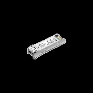 Transceptor mini-GBIC SFP duplex Monomodo 1000X, Distancia 10 KM, conector LC