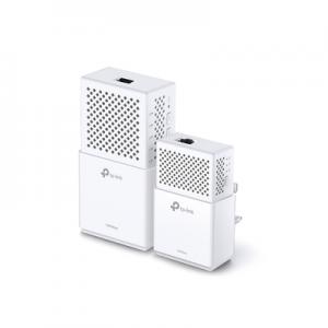 Kit Adaptador Powerline Wi-Fi, doble banda, Gigabit Ethernet, tecnologia HomePlug AV1000, 1000Mbps, Plug and Play, hasta 300 M dentro de casa, 1 Puerto 10/100/1000 Mbps.