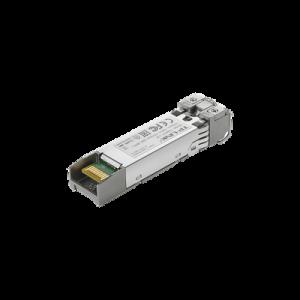 Transceptor mini-GBIC LR-SFP+ duplex Monomodo 10 G base, Distancia hasta 10 Km, conector LC